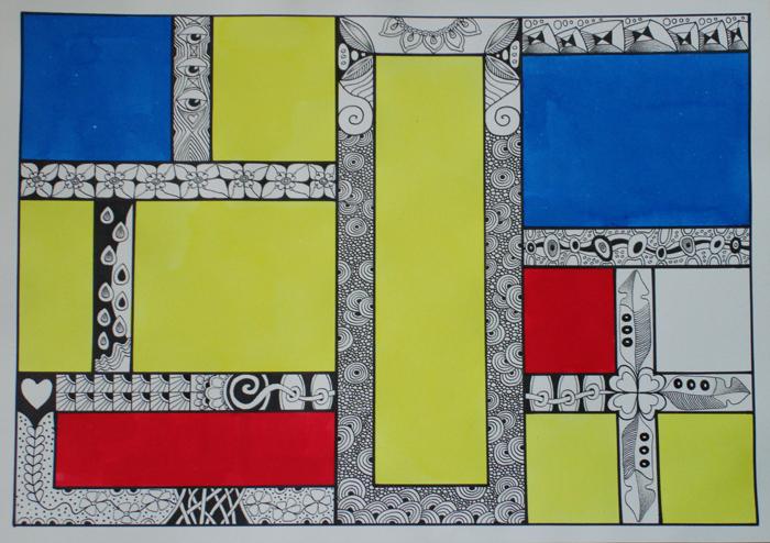 """Workshop""""Mondriaan"""""""